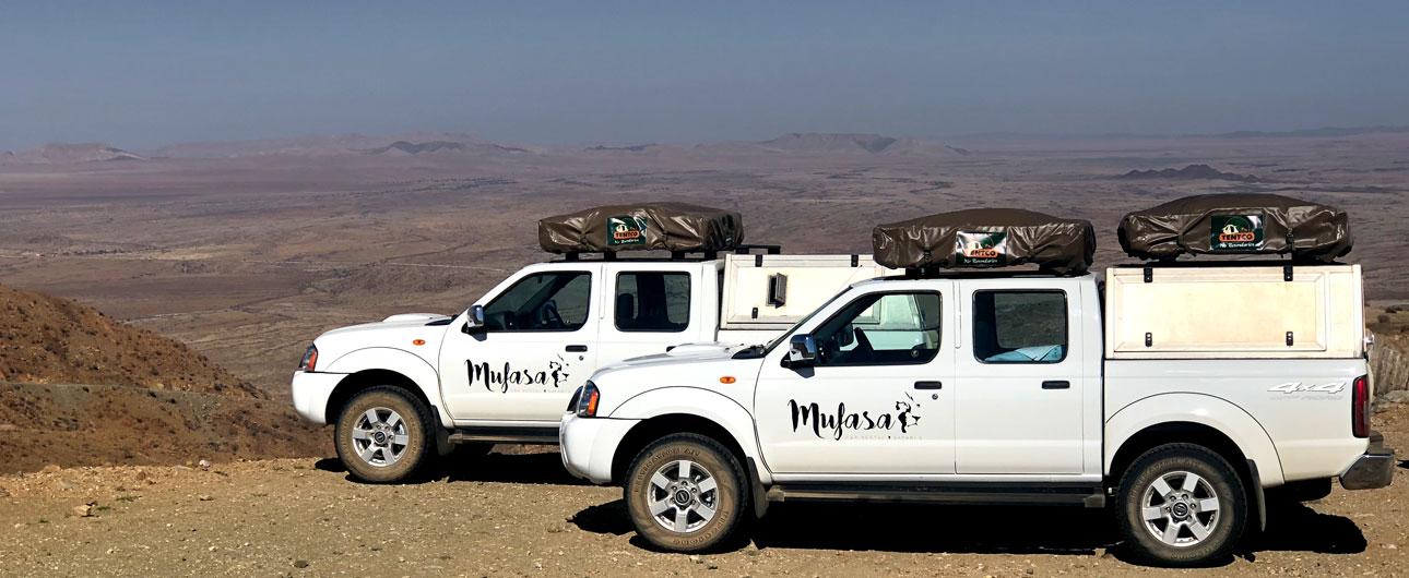 Mufasa 4x4 Car Rental Namibia, Botswana   Car hire Windhoek